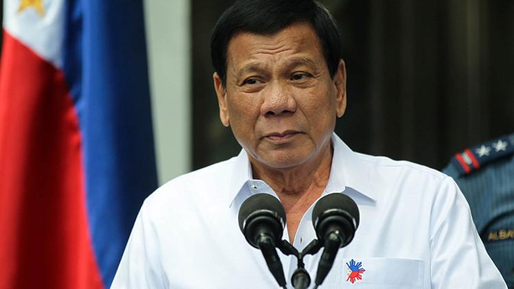 Duterte propone juzgar como adultos a niños de 9 años