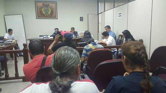 Alcalde de Concepción, David Mollinedo, enviado a Palmasola