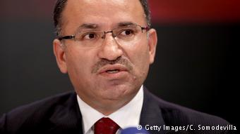 Ministro turco de Justicia, Bekir Bozdag.