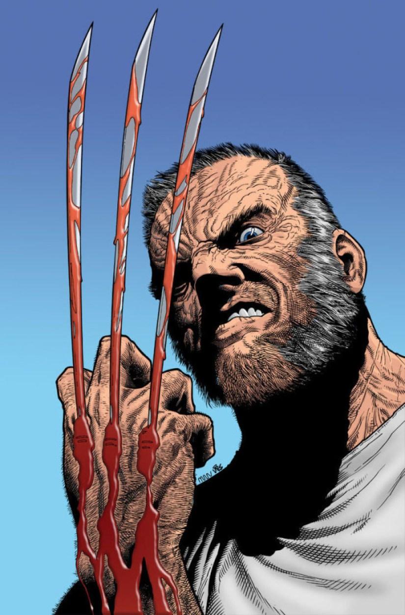 La película está basada, muy parcialmente, en el cómic Old Man Logan.