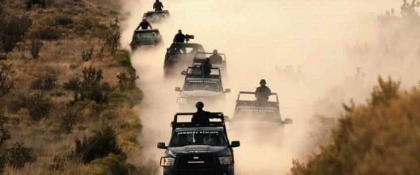 Una buena parte de la película sucede en México y la frontera con Estados Unidos.