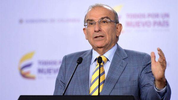 Humberto de la Calle, jefe negociador del gobierno colombiano