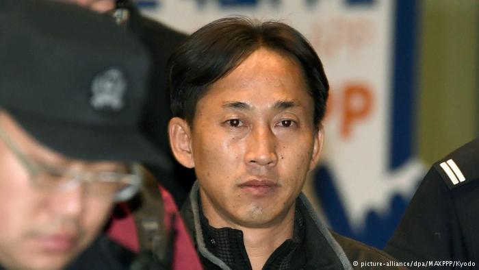 Mordfall Kim Jong Nam Freilassung Ri Jong Chol (picture-alliance/dpa/MAXPPP/Kyodo)