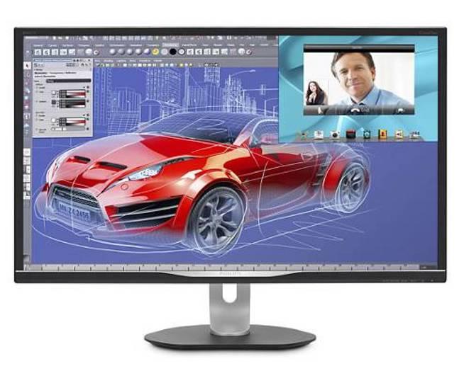 El Philips BDM3270QP2/00, un monitor para profesionales exigentes (y con presupuesto). (Imagen: Philips)