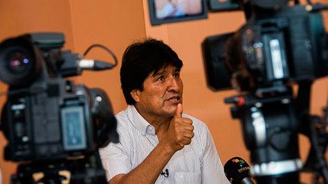 El presidente Evo Morales en Cuba