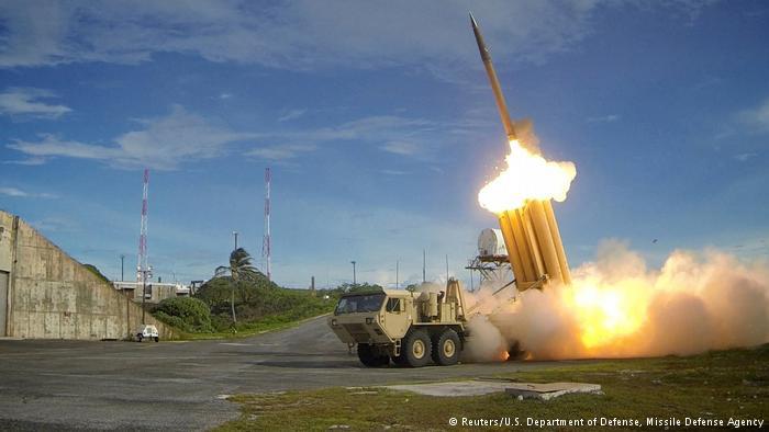 US-Raketenabwehrsystem THAAD (Reuters/U.S. Department of Defense, Missile Defense Agency)