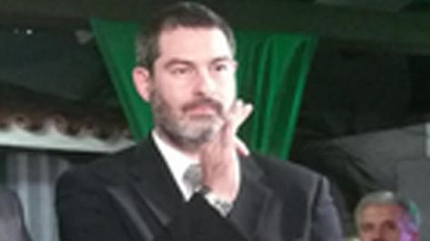Zvonko Matkovic jura como miembro del Comité Cívico Pro Santa Cruz