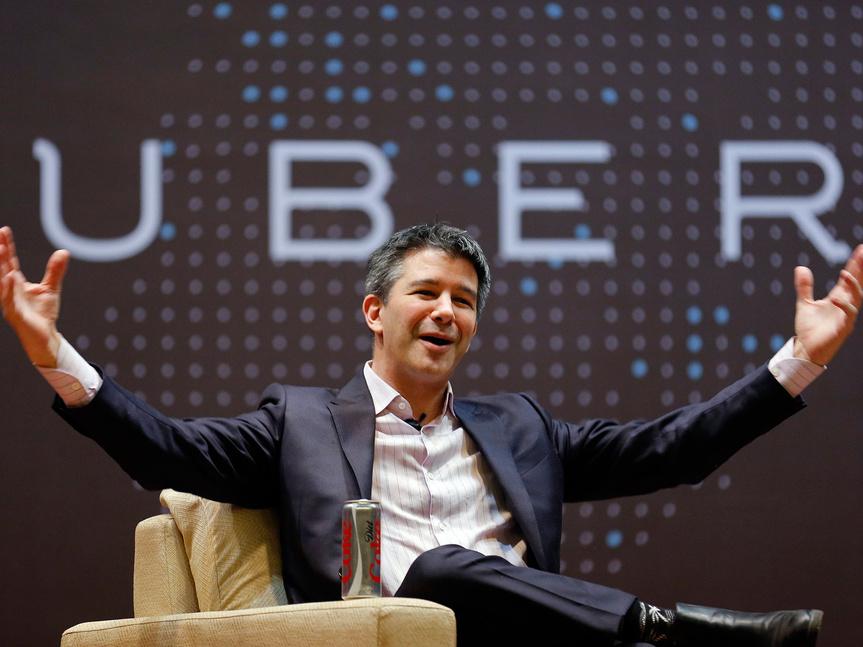 Travis Kalanick, creador de Uber.