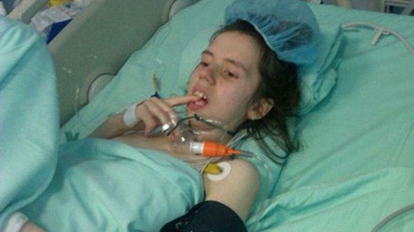 Danijela sufrió una sepsis durante el parto de su hija Marija. Permaneció en coma durante siete años. Ahora despertó
