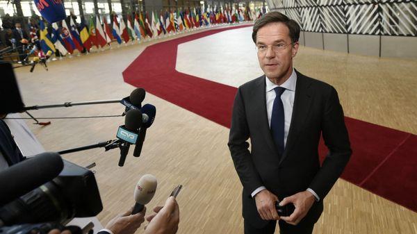 El primer ministro holnadés, Mark Rutte (AFP)
