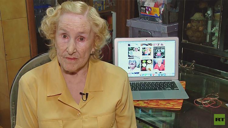 Chicha, la abuela argentina que se ha convertido en una estrella de Instagram a sus 90 años (VIDEO)