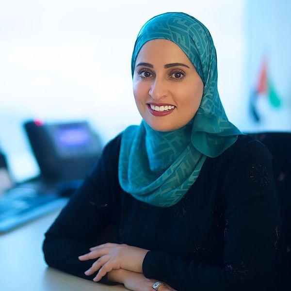 Ohood bint Khalfan Roumi, la ministra de Felicidad de los Emiratos Árabes Unidos. (uaecabinet.ae)