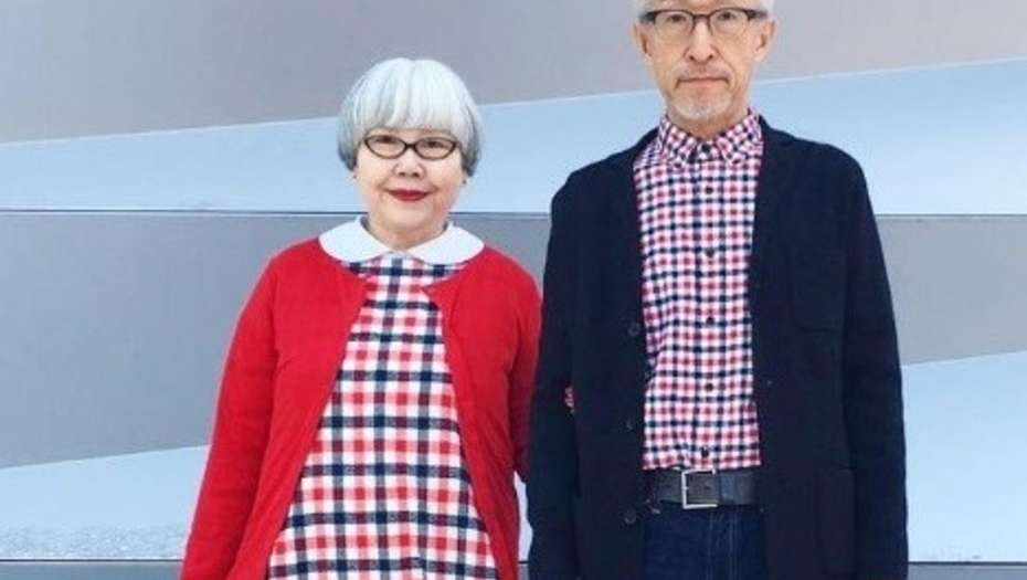 La pareja japonesa que desde hace 37 años se viste en composé