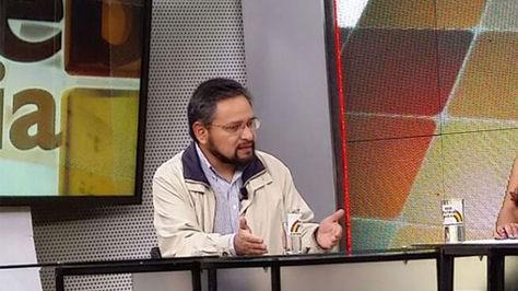 Alfredo Rada, viceministro de Coordinación con los Movimientos Sociales.