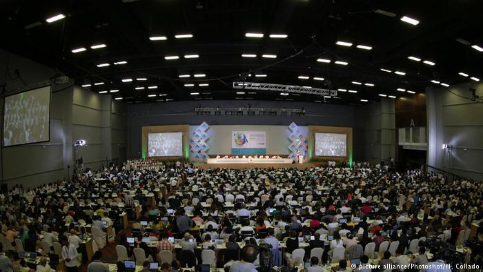 Mexiko UN-Artenschutzkonferenz in Cancún zu Ende (picture alliance/Photoshot/M. Collado)
