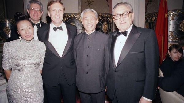 Richard H. Solomon fue un experto clave para iniciar la normalización de relaciones entre los Estados Unidos y China a comienzos de la década de 1970. (AP)