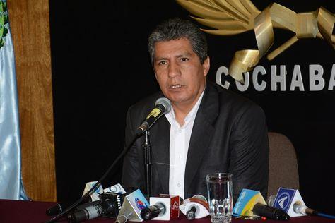 Edmundo Novillo, jefe de la Unidad de Transparencia del Ministerio de Hidrocarburos.