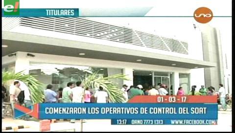 Video titulares de noticias de TV – Bolivia, mediodía del miércoles 1 de marzo de 2017