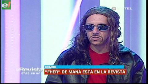 """""""Fher"""" del grupo Paná estuvo en La Revista"""