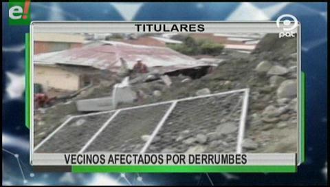 Video titulares de noticias de TV – Bolivia, mediodía del sábado 4 de marzo de 2017