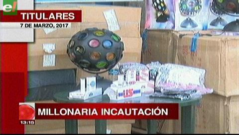Video titulares de noticias de TV – Bolivia, mediodía del martes 7 de marzo de 2017
