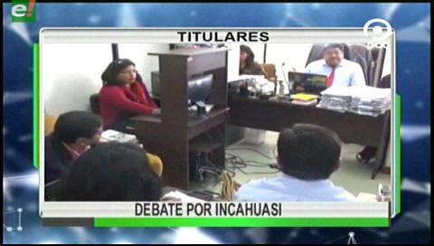 Video titulares de noticias de TV – Bolivia, noche del jueves 9 de marzo de 2017