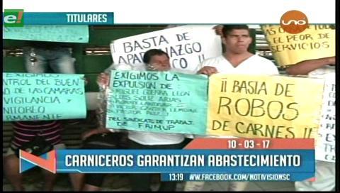 Video titulares de noticias de TV – Bolivia, mediodía del viernes 10 de marzo de 2017