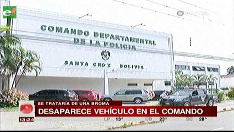 Roban vehículo de un coronel del parqueo del Comando policial