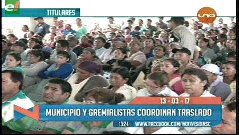 Video titulares de noticias de TV – Bolivia, mediodía del lunes 13 de marzo de 2017