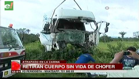 Choque con muerte en la carretera a San Carlos