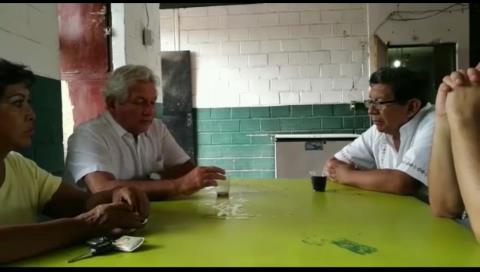 El líder Demócrata visitó en Palmasola al alcalde de Concepción para expresarle su apoyo total