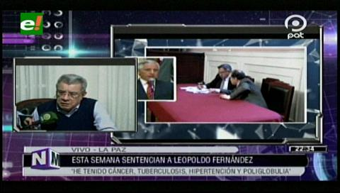 Debo estar preparado para lo que venga, Leopoldo Fernández