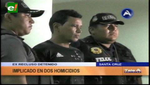Policía presentó al acusado de victimar a dos personas