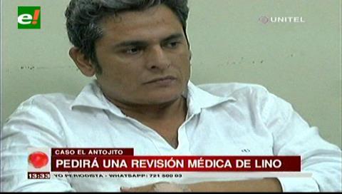 Solicitarán que ex funcionario Jimmy Lino sea evaluado por junta médica de Sucre