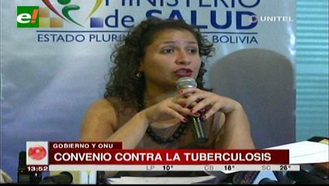 Bolivia y la ONU firman convenio para la lucha contra la tuberculosis