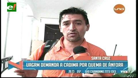 Cadima denuncia persecución política por parte del Rectorado de la Uagrm