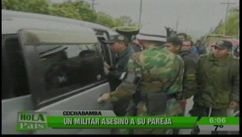 Tragedia en Cochabamba: Un militar comete feminicidio y luego se suicida en dependencias de las FFAA