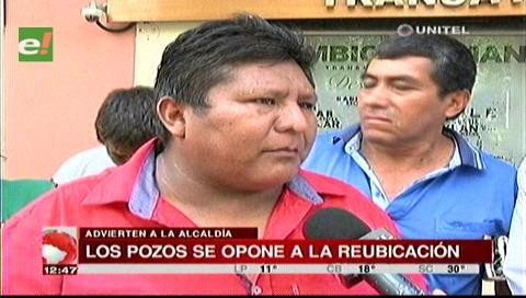 Santa Cruz: Gremiales de Los Pozos rechazan la intención de la Alcaldía de trasladarlos
