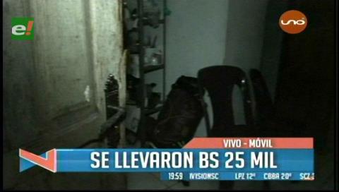 Robaron Bs 25 mil de una casa cercana al Comando Departamental de la Policía