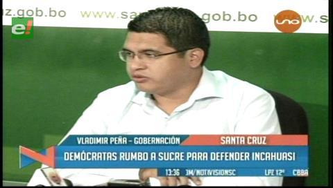 Gobernación cruceña defenderá el campo Incahuasi ante audiencia en Sucre