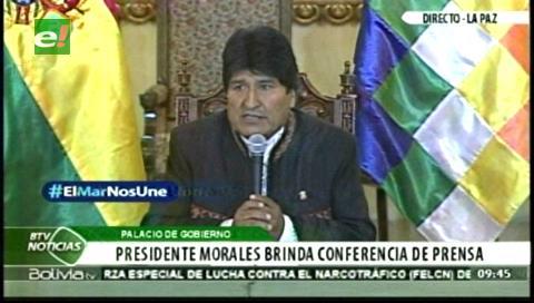 Morales convoca a la Central Obrera Boliviana para iniciar tratamiento de su pliego el miércoles