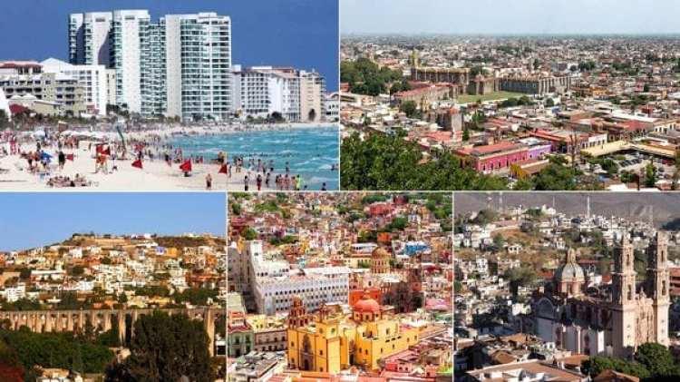 """Querétaro, Puebla, Cancún, Cuernavaca y el corredor León-Celaya empiezan a seducir a los capos narcos como nuevas ciudades """"santuarios"""""""