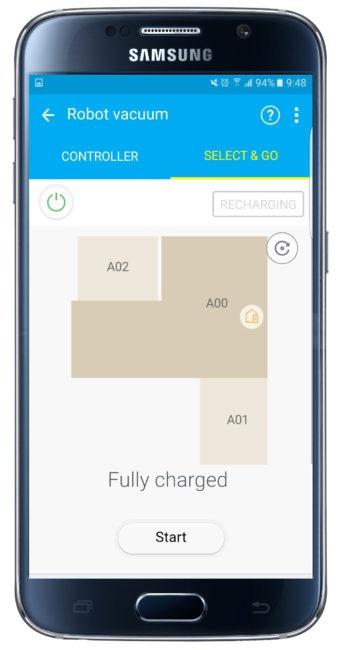 Plano en Samsung Smart Home