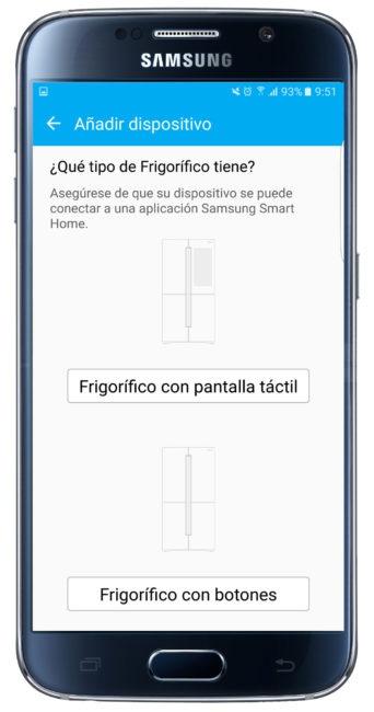 Añadir dispositivo en Samsung Smart Home
