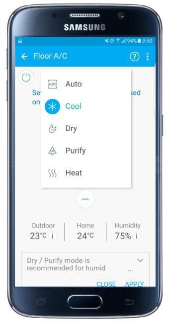 Posibilidades de Samsung Smart Home