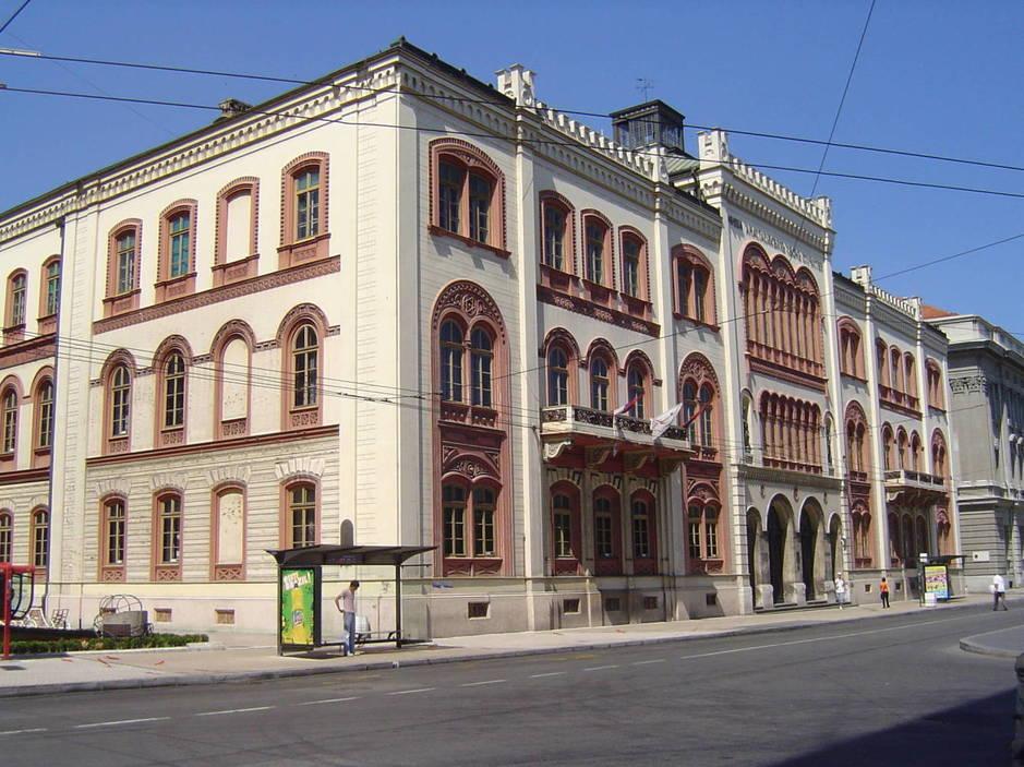 Rectorado de la Universidad de Belgrado. (CC/Matija)