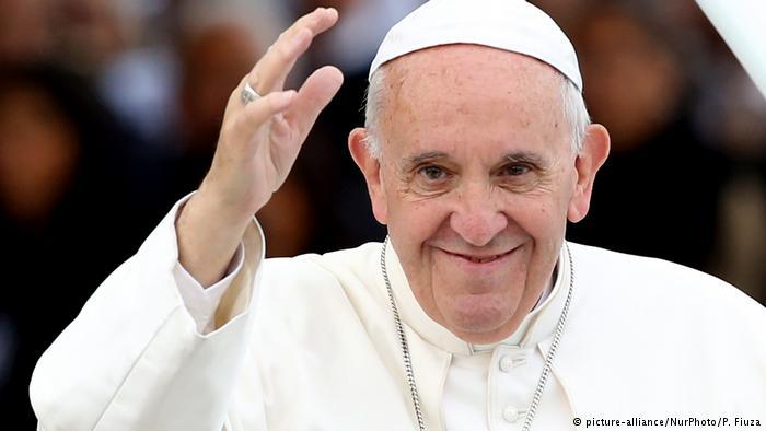 Portugal Papst Johannes in Fatima (picture-alliance/NurPhoto/P. Fiuza)