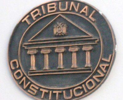Tribunal Constitucional admite Ley de Reforma Parcial de la CPE.