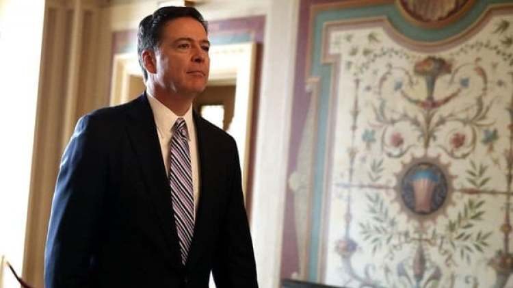 El ex jefe del FBI, James Comey (Getty)