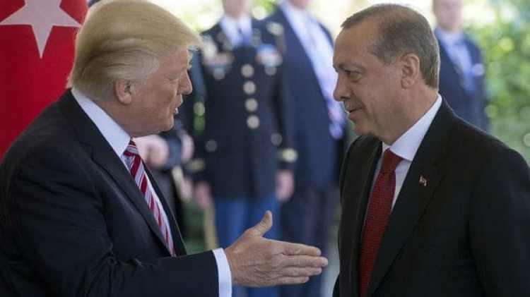 El martes, Trump recibió en la Casa Blanca a su par, Recep Tayyip Erdogan (AFP)